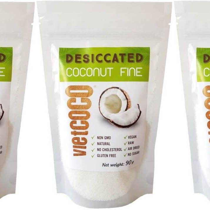 Купить Чипсы кокосовые сушеные (без сахара, без соли, без обжарки), 90 г,
