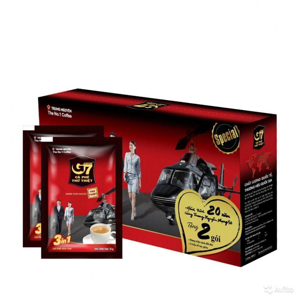 Купить Кофе 3-1 Trung nguyen(21) G-7