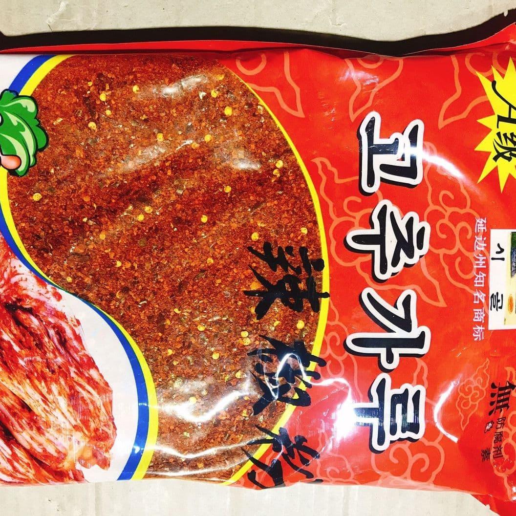 Купить Перец красный крупного помола 1кг Корея