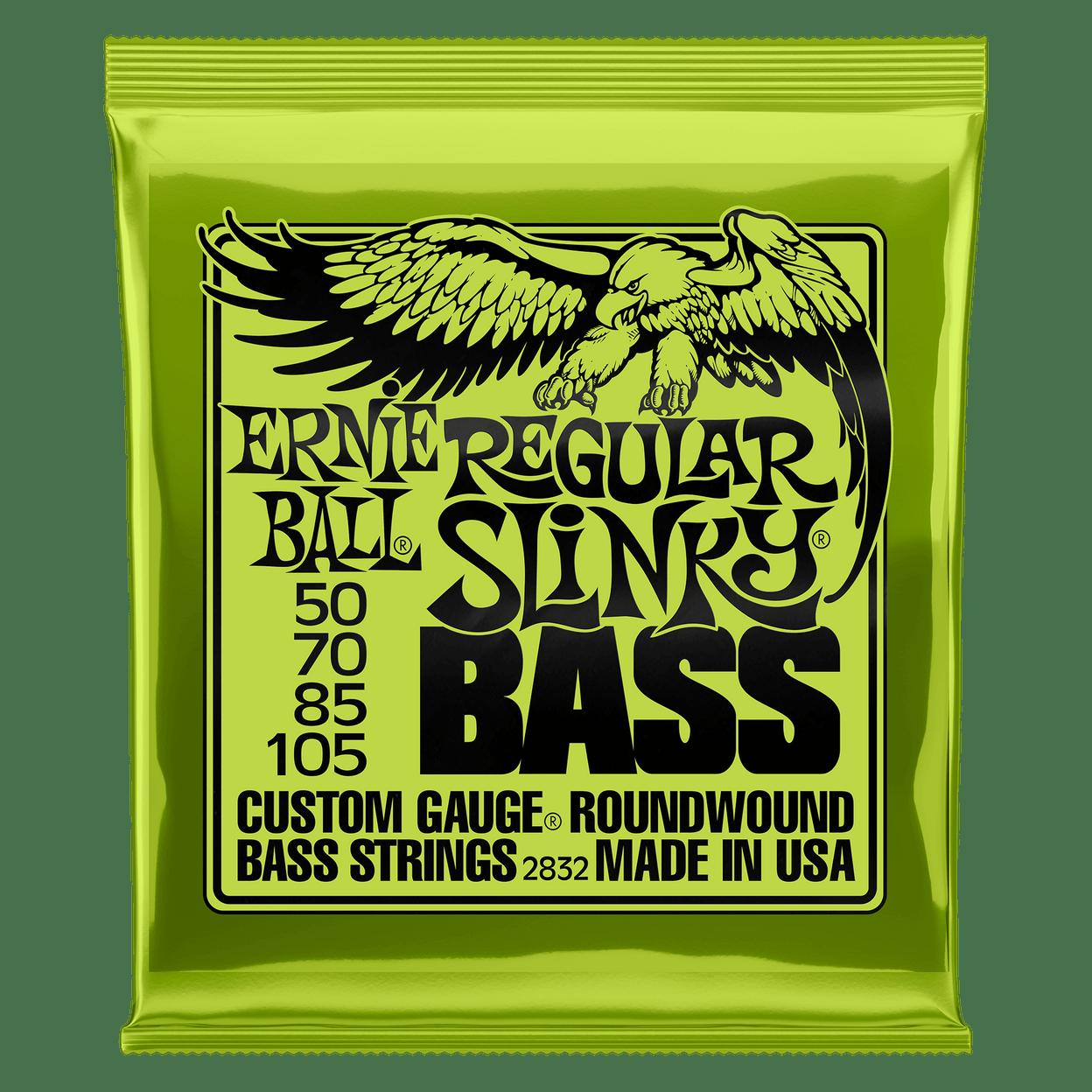Купить Ernie Ball 2832 Slinky Nickel Wound Bass 50-105