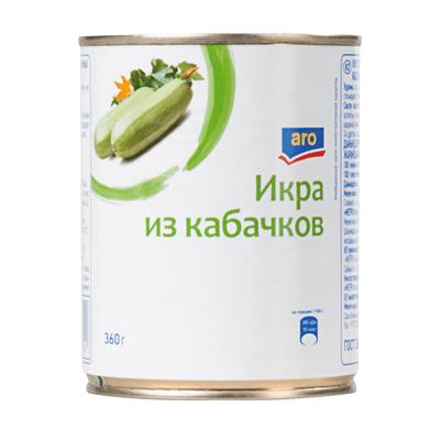 Купить ИКРА КАБАЧКОВАЯ ARO 360 Г. с доставкой на дом . Доставка продуктов Тюмень , доставка продуктов в Тюмени , dostavka-produktov-tyumen , dostavka-produktov-v-tyumeni
