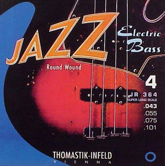 Купить Thomastik JR364 Jazz Round Wound