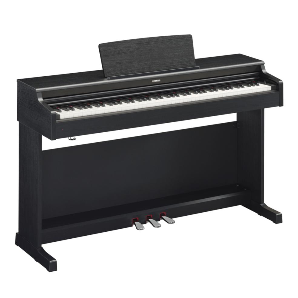 Купить Yamaha YDP-164B Arius Цифровое фортепиано с клавиатурой GH3 и сэмплами концертного рояля Yamaha CFX. Цвет черный