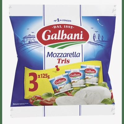 Купить СЫР МОЦАРЕЛЛА GALBANI TRIS 375 Г. доставка продуктов Тюмень . доставка продуктов в Тюмени . доставка фруктов Тюмень . доставка фруктов в Тюмени . доставка воды Тюмень . доставка воды в Тюмени