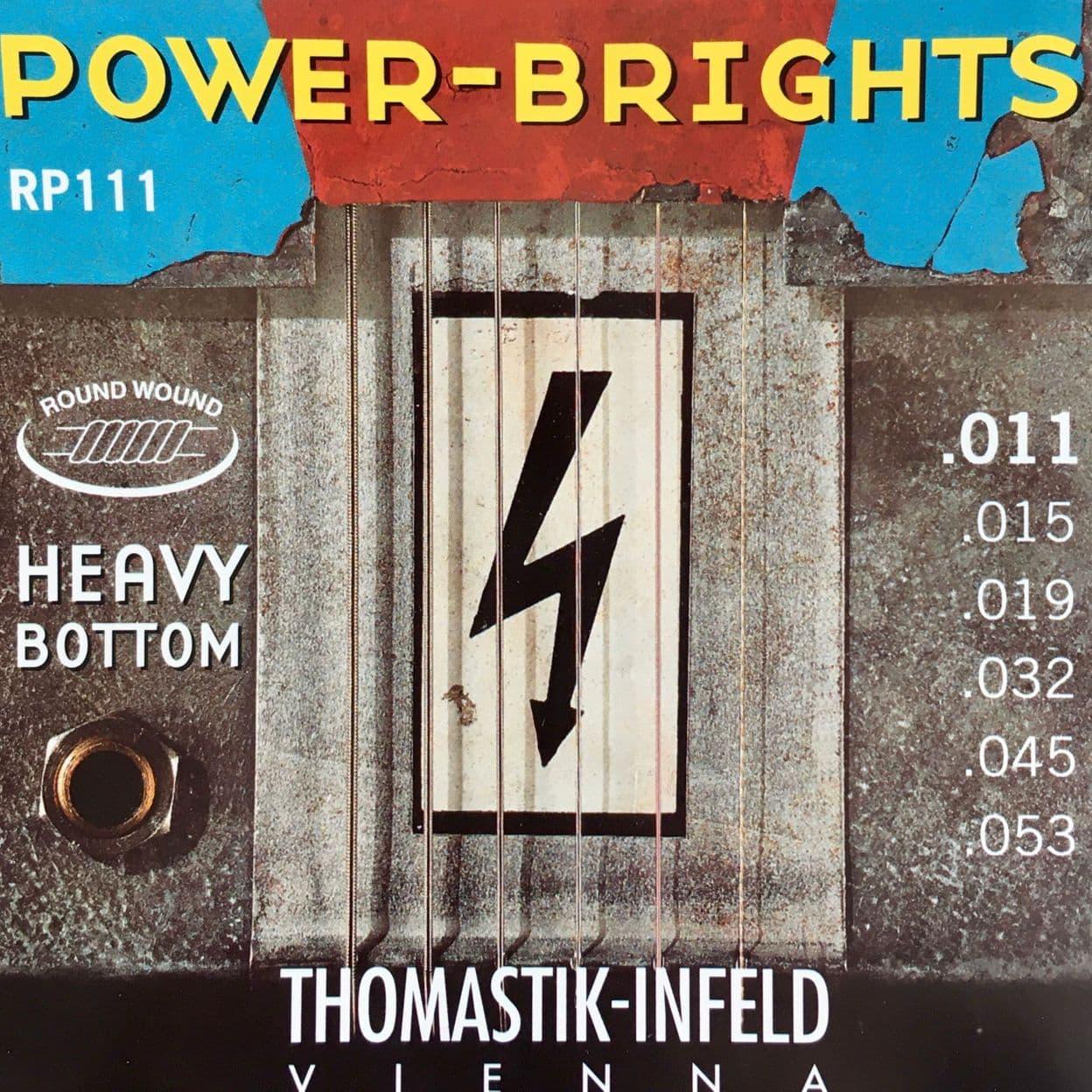 Купить Thomastik RP111 Power Brights Heavy Bottom