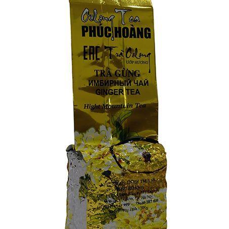 Купить Улун с имбирём Phuc Hoang Tra Gung (200 гр)