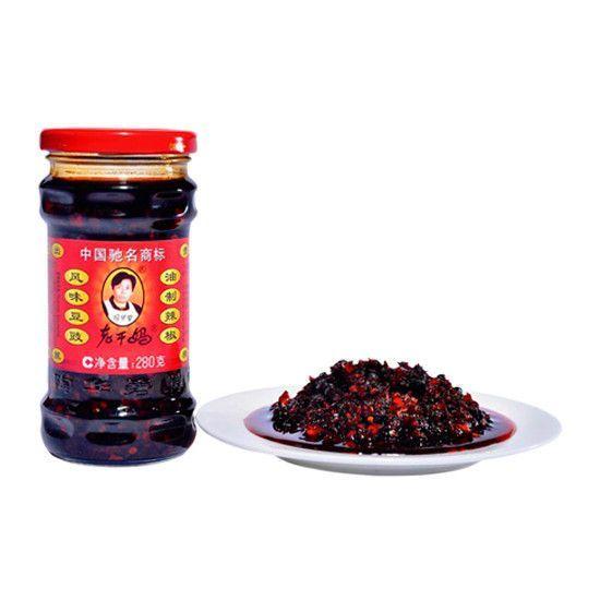 Купить Соус Lao Gan Ma из черных соевых бобов и чили, 280 г
