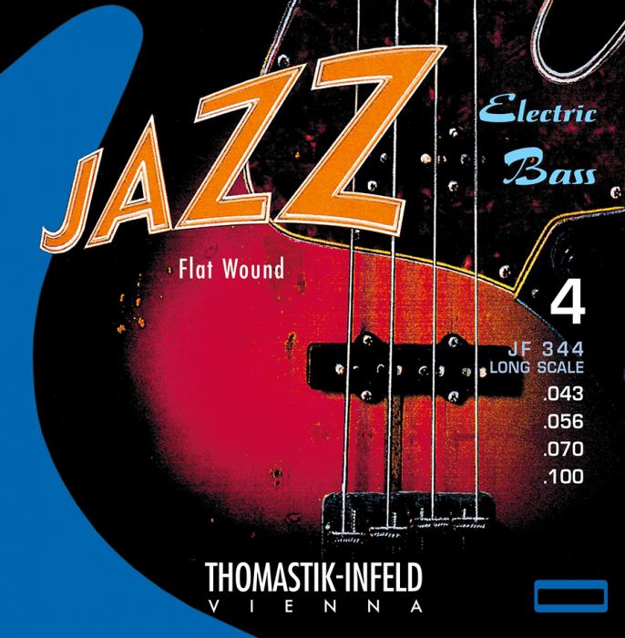 Купить Thomastik JF344 Jazz Flat Wound