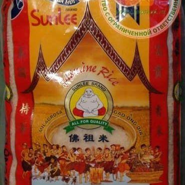 Купить Тайский рис длиннозерный жасмин Sunlee 5 кг