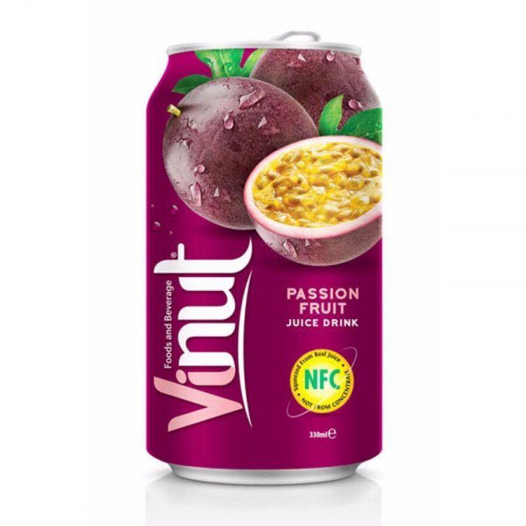 Купить Напиток на основе натурального сока МАРАКУЙИ 330мл