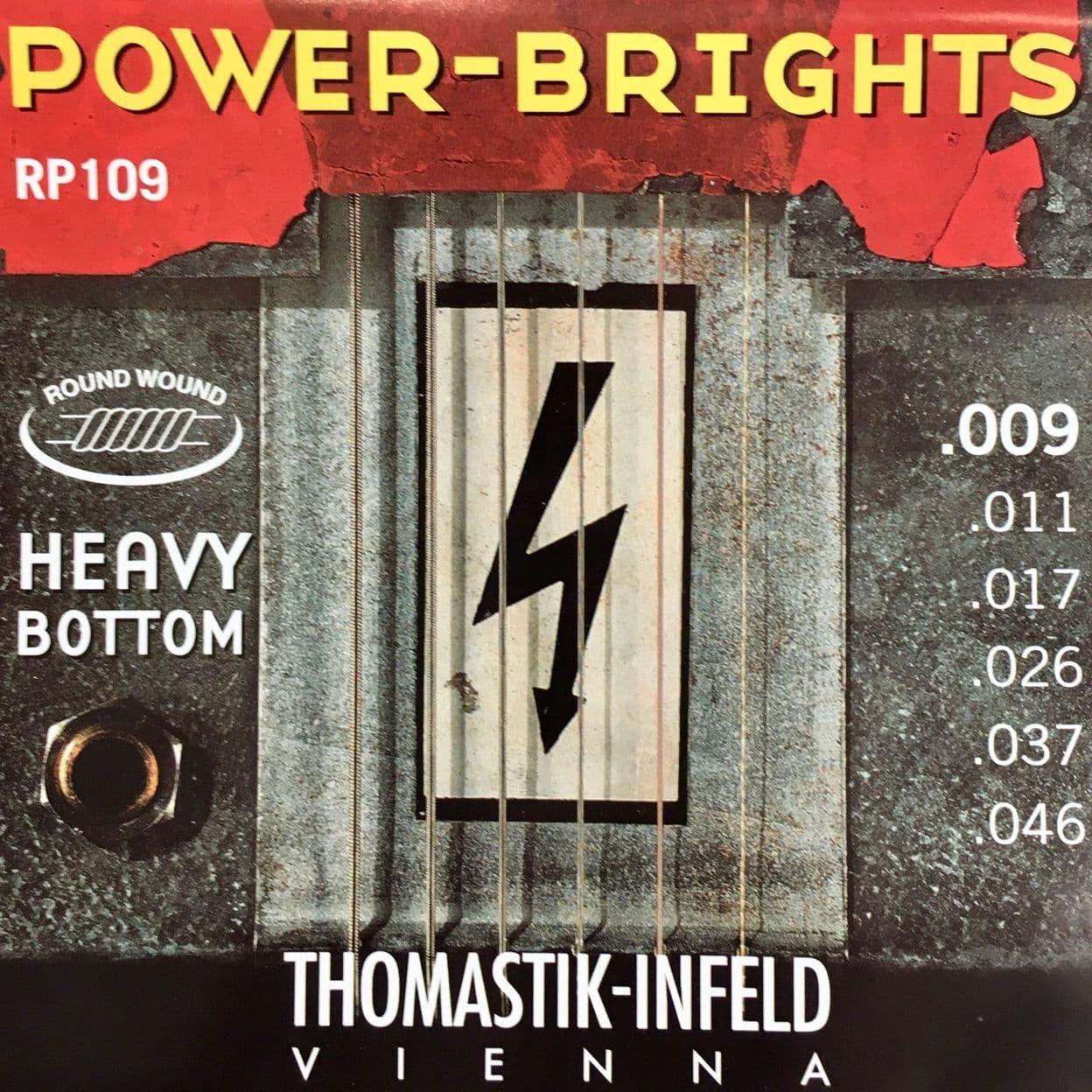 Купить Thomastik RP109 Power Brights Heavy Bottom