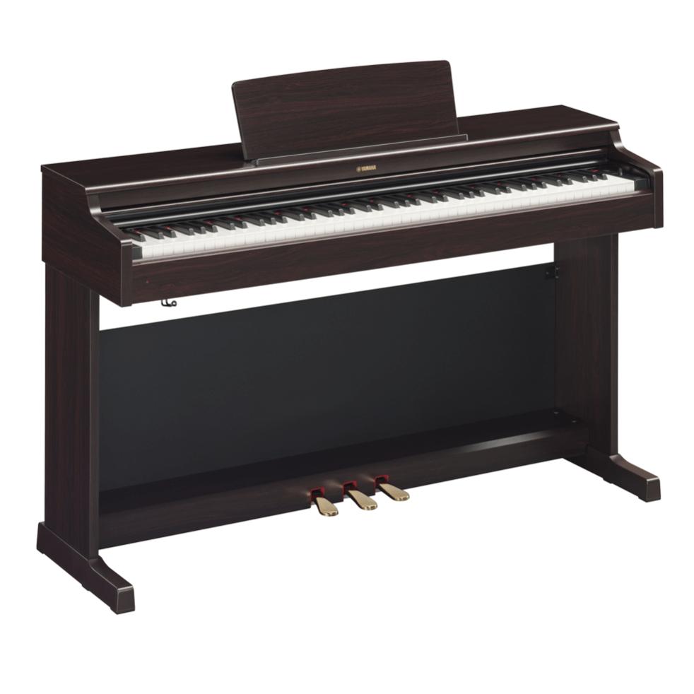 Купить Yamaha YDP-164R Arius Цифровое фортепиано с клавиатурой GH3 и сэмплами концертного рояля Yamaha CFX. Цвет палисандр