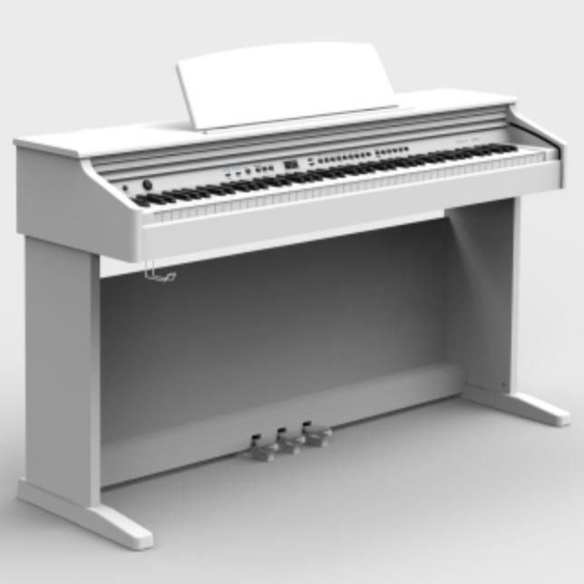 Купить Orla CDP 101WH Цифровое пианино, белое, полированное