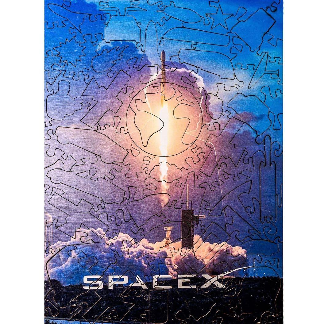 Купить Пазл SpaceX