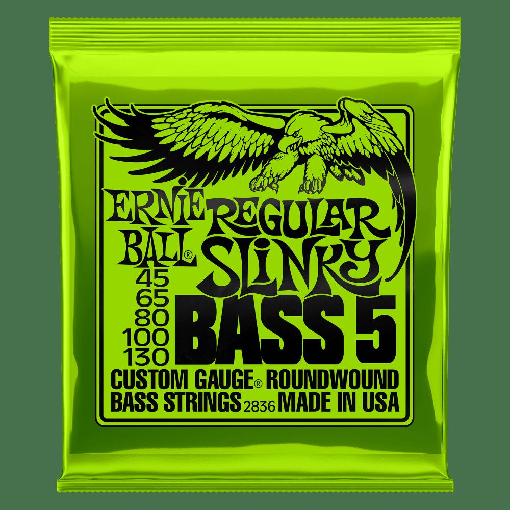 Купить Ernie Ball 2836 Slinky Nickel Wound Bass 45-130