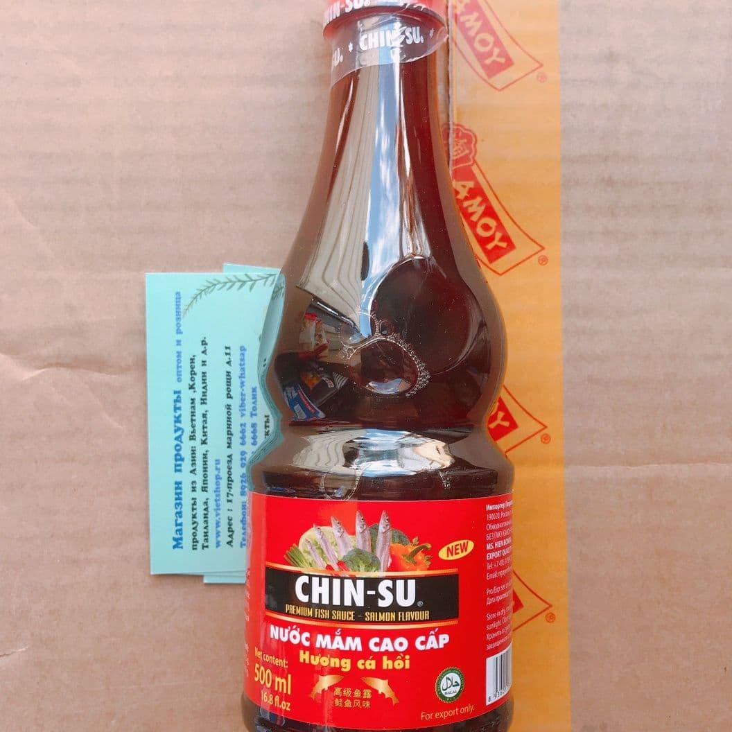 Купить Рыбный соус Чинчу 500мл пластик