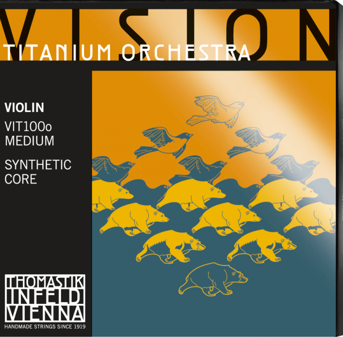 Купить Thomastik VIT100o Vision Titanium Orchestra