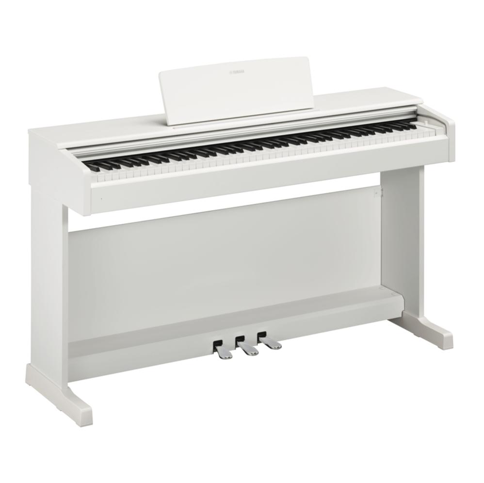 Купить Yamaha YDP-144WH Arius Цифровое фортепиано с клавиатурой GHS и сэмплами концертного рояля Yamaha CFX. Цвет белый