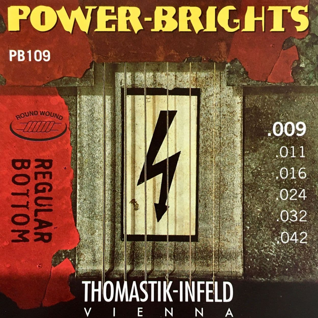 Купить Thomastik PB109 Power Brights