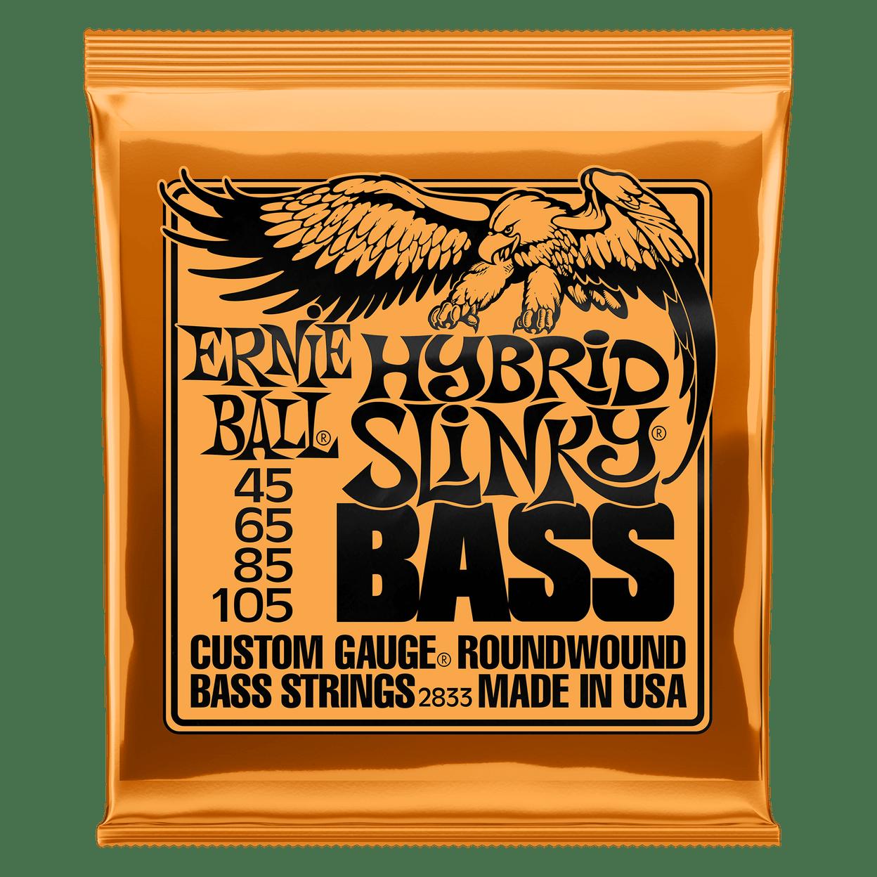 Купить Ernie Ball 2833 Hybrid Slinky Nickel Wound Bass 45-105