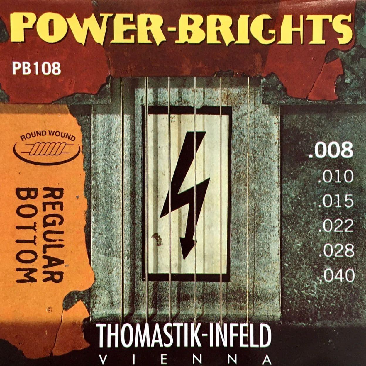 Купить Thomastik PB108 Power Brights