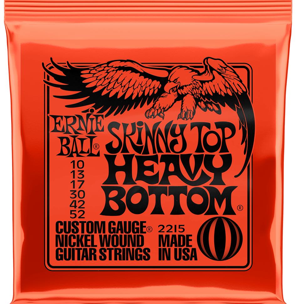Купить Ernie Ball 2215 Skinny Top Heavy Bottom Slinky Nickel Wound 10-52