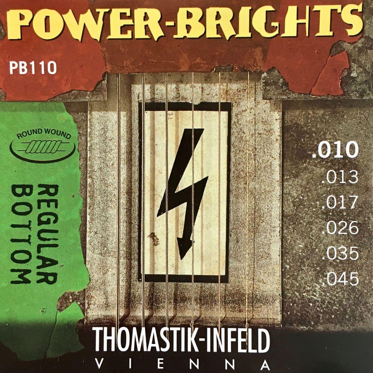 Купить Thomastik PB110 Power Brights