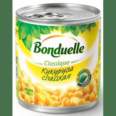 Купить КУКУРУЗА BONDUELLE 170 Г. с доставкой на дом . Доставка продуктов Тюмень , доставка продуктов в Тюмени , dostavka-produktov-tyumen , dostavka-produktov-v-tyumeni