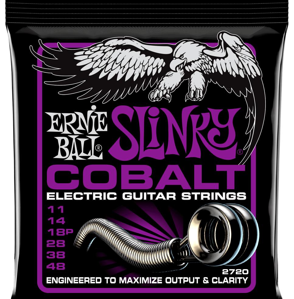 Купить Ernie Ball 2720 Slinky Cobalt 11-48