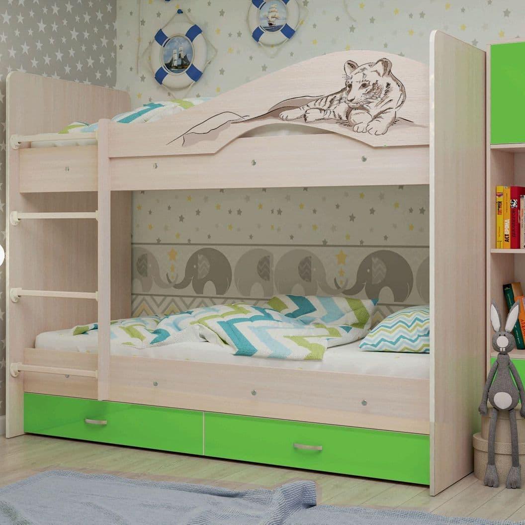 """Купить Кровать 2-хяр. """"Мая-Сафари"""" 1,9 м."""