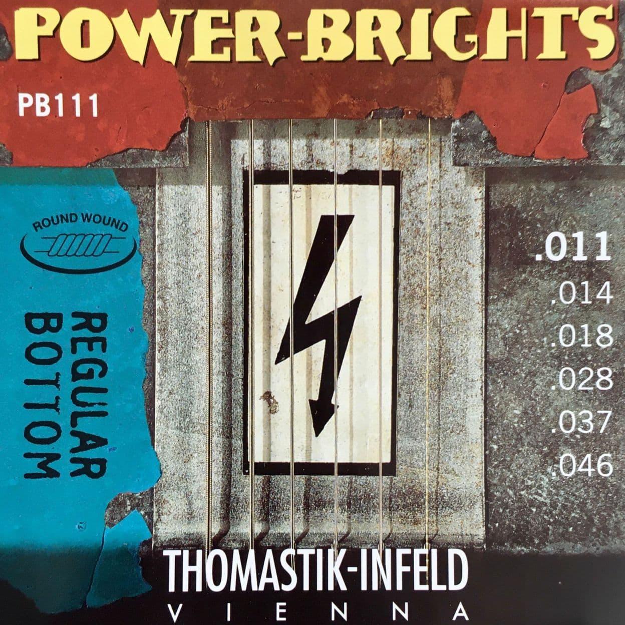 Купить Thomastik PB111 Power Brights