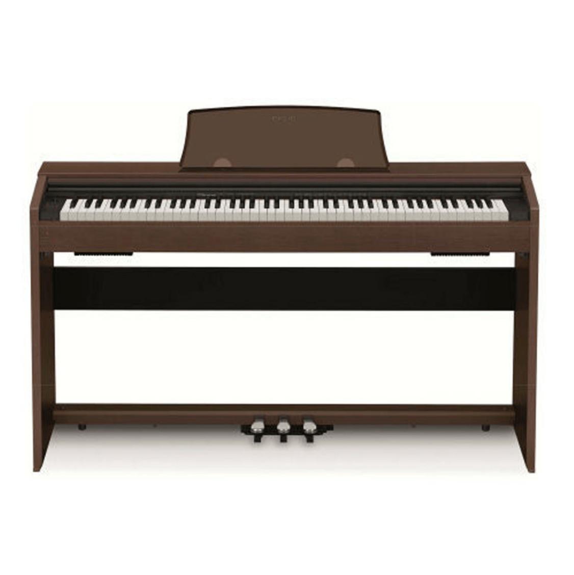 Купить Casio Privia PX-770BN Кабинетное цифровое фортепиано в компактном корпусе, цвет палисандр