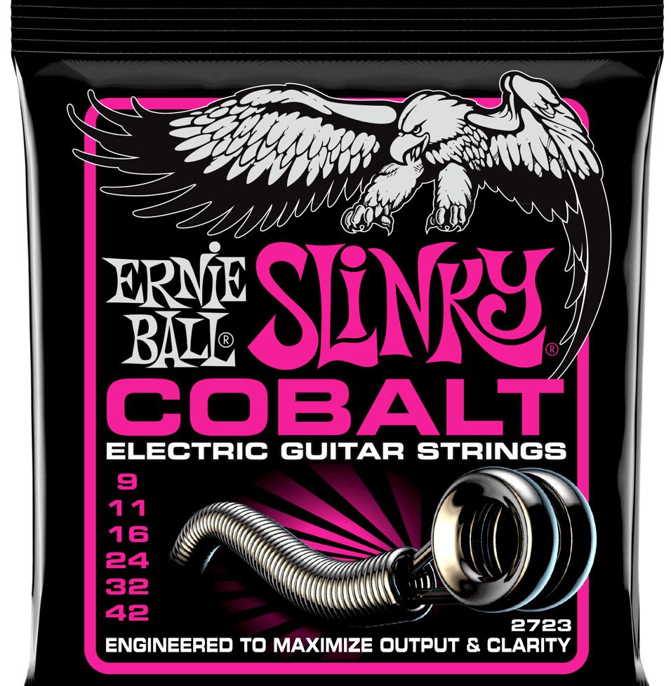Купить Ernie Ball 2723 Slinky Cobalt 9-42