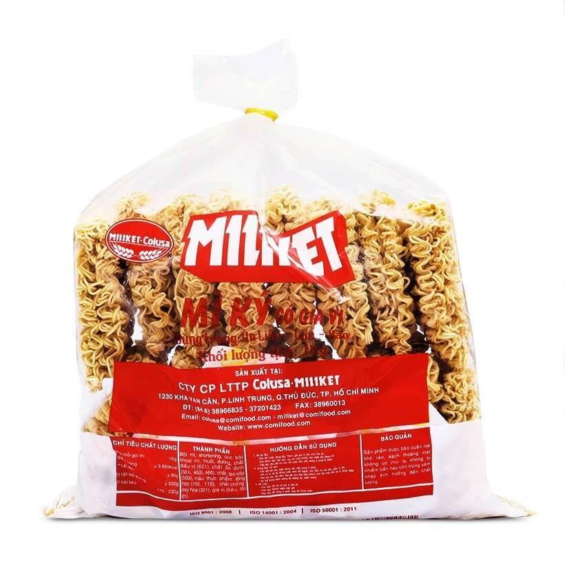 Купить MILIKET Лапша быстрого приготовления (MI KY), 1 кг