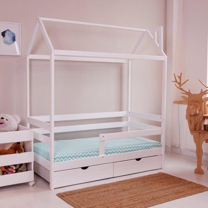 Купить Кровать-домик Массив 003