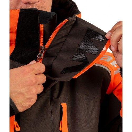Купить Костюм рыболовный зимний (оранжевый/поплавок) 215-О-В-3