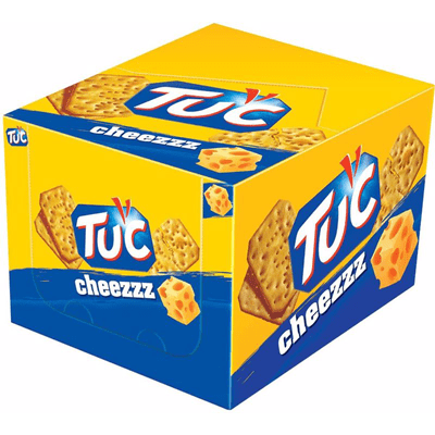 Купить КРЕКЕР TUC С СЫРОМ 100 Г. Х 24 ШТ. доставка продуктов Тюмень . доставка продуктов в Тюмени . доставка фруктов Тюмень . доставка фруктов в Тюмени . доставка воды Тюмень . доставка воды в Тюмени