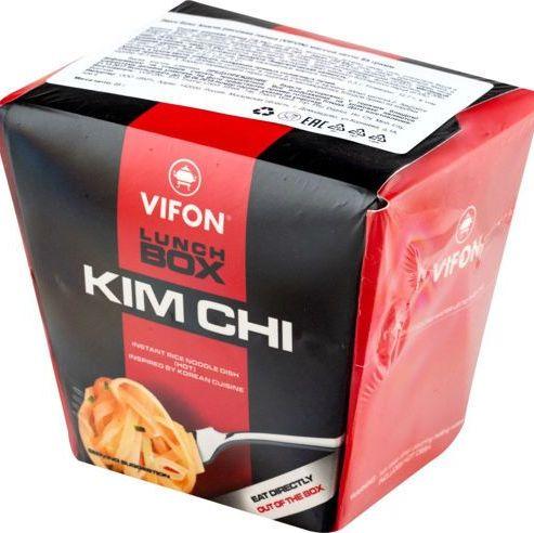 """Купить VIFON Ланчбокс """"Кимчи"""" (KIM CHI) лапша рисовая, 85 г"""