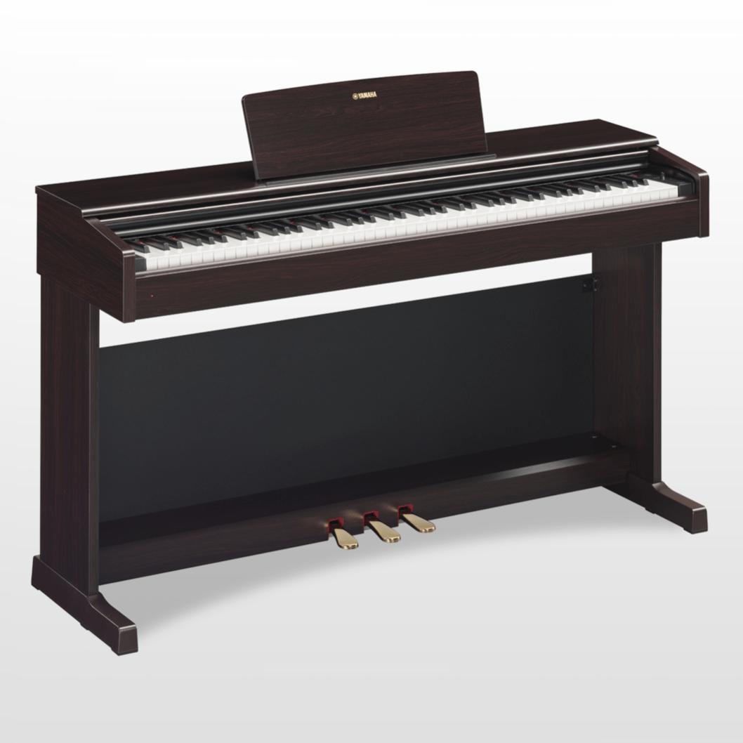 Купить Yamaha YDP-144R Arius Цифровое фортепиано с клавиатурой GHS и сэмплами концертного рояля Yamaha CFX. Цвет палисандр