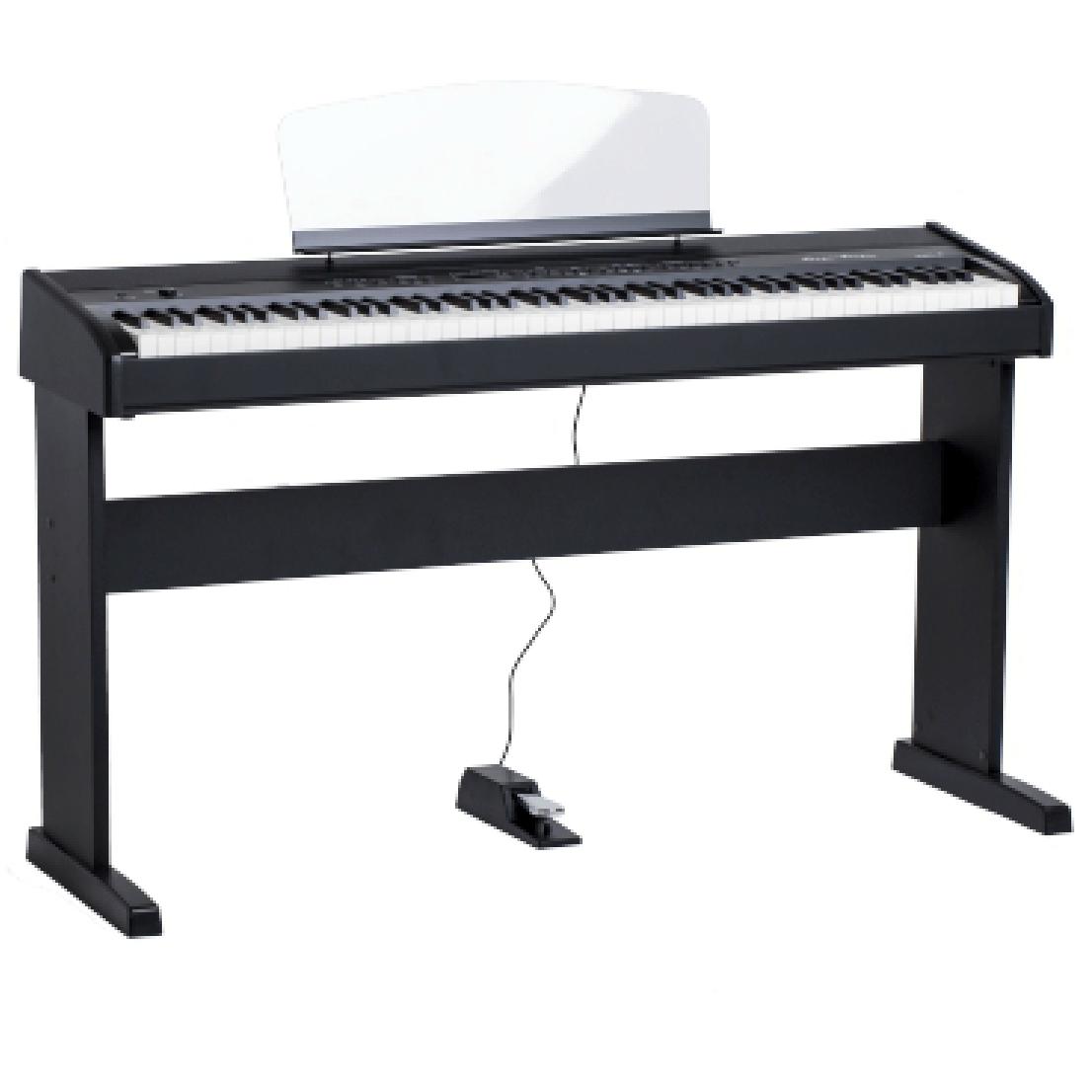 Купить Orla Stage Studio BK Цифровое пианино, черное, со стойкой