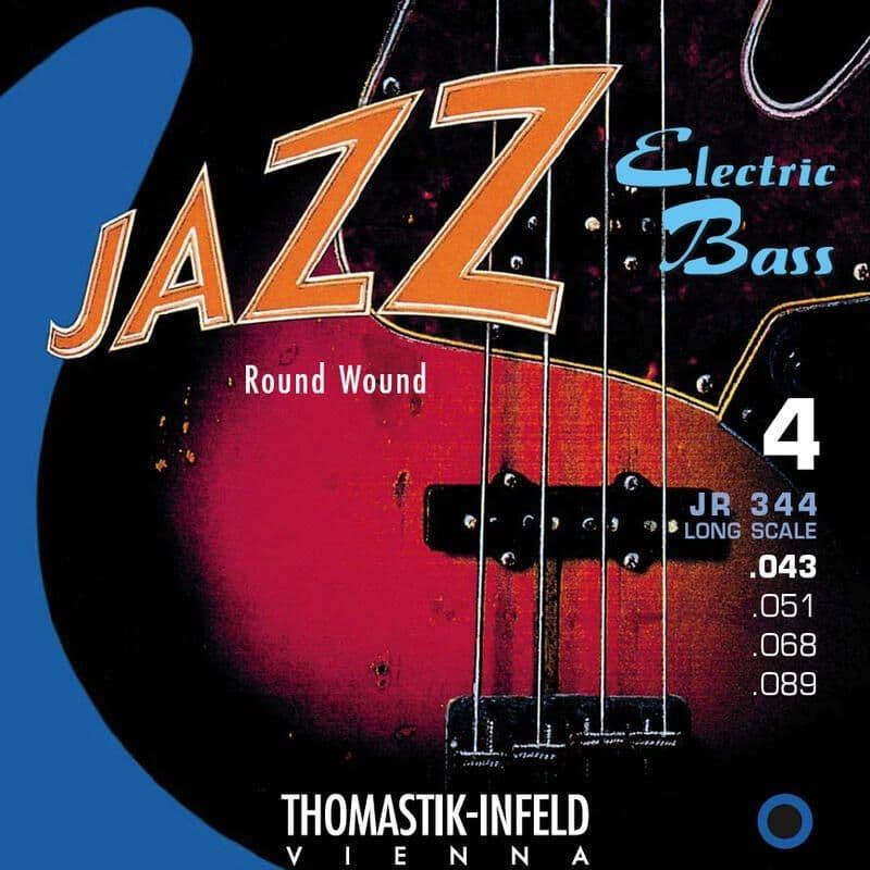 Купить Thomastik JR344 Jazz Round Wound