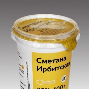 Купить СМЕТАНА ИРБИТСКАЯ 20% 400 Г. с доставкой на дом . Доставка продуктов Тюмень , доставка продуктов в Тюмени , dostavka-produktov-tyumen , dostavka-produktov-v-tyumeni