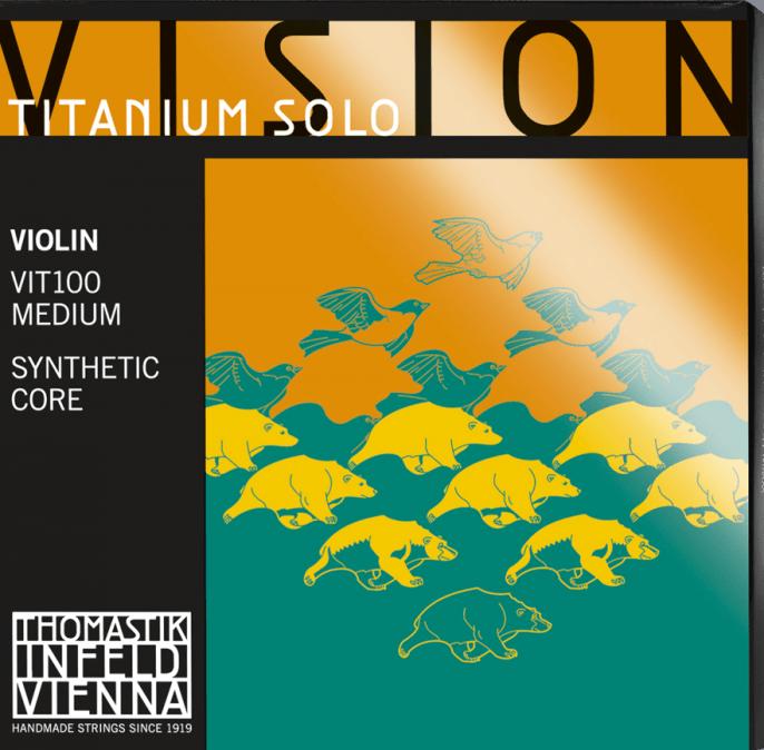 Купить Thomastik VIT100 Vision Titanium Solo