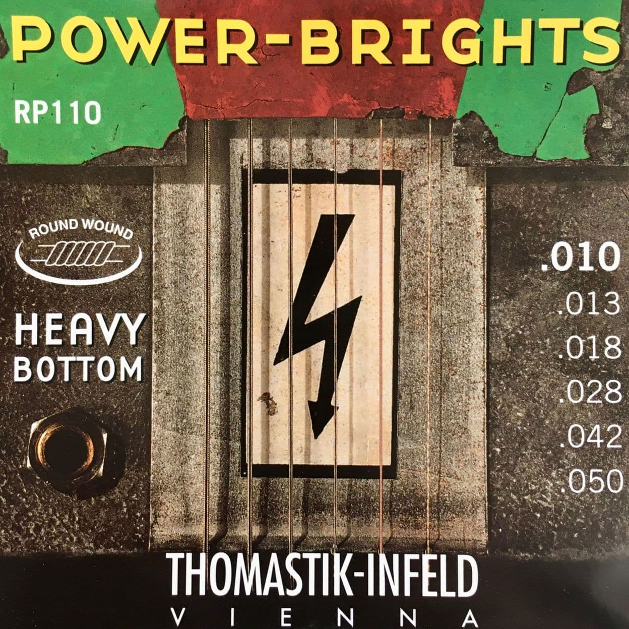 Купить Thomastik RP110 Power Brights Heavy Bottom