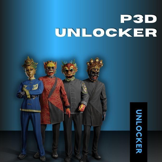 P3D Unlocker