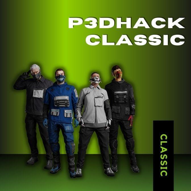 P3DHack Classic